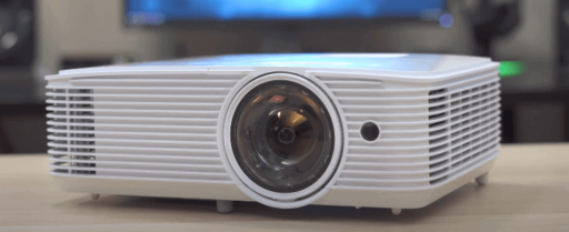 proyector optoma frontal
